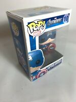 Funko POP Marvel Avengers 10 Captain America Rare Vaulted Collectors Item Mint