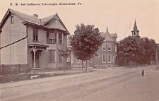 United Brethren & Lutheran Parsonages in Greencastle Pa Old