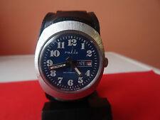 rare vintage GERMAN - GDR   watch  RUHLA  1970 -3