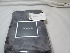 "New Vera Wang FLORAL JACQUARD Standard Sham 20""x26""  $150 ~ Grey/ Dark Grey"