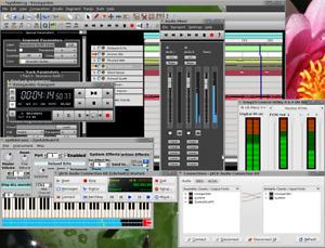 Rosegarden (MIDI Sequencer, Music Notation Software) Windows CD