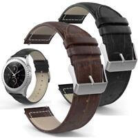 NEW Genuine Leather Watch Band Sleek Strap For Samsung Galaxy S2 SM-R732 MI