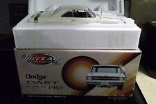 1969 DODGE DART #006 GTS 440 WHITE BLACK INT ACME 1:18 VINTAGE CAR GMP DIECAST