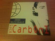 CDs LUCA CARBONI INNO NAZIONALE SUPPLEMENTO A MUSICA 10/1995 BMG 74321 319882