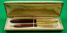 "PARKER ""51"" PEN AND PENCIL W/  ORIGINAL BOX."