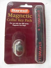 Staywell Magnetic Collar Key Pack 480 For the 400 Series Magnetic Cat Flaps