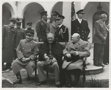 CONFERENCE CRIMEAN PENINSULA AT YALTA FEB 1945 8X10 PHOTO REPRINT