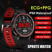 L8 Bluetooth Heart Rate Monitor Fitness Waterproof Smart Watch For iOS Android