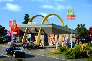 Vollmer 43634 Mcdonald´S Fast Food Restaurant With Mcdrive, Kit, H0