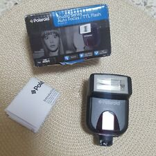 Polaroid Studio Series Digital Auto Focus / TTL Shoe Mount Flash For Sony New