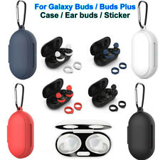For Samsung Galaxy Buds / Buds Plus Case Cover Ear Gels Tips & Dust-proof Guard