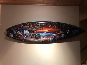 Steve Barton Original Surfboard Art