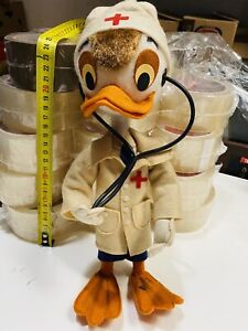 Cloth Lenci Made IN Italy Disney Donald Nurse Vintage