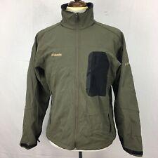 Columbia Titanium Tech Interchange Mens Green Black Shell Jacket sz L Used