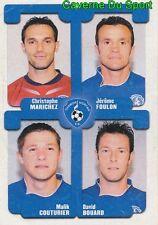 466 MARICHEZ FOULON COUTURIER BOUARD  CHAMOIS NIORTAIS STICKER FOOT 2005 PANINI