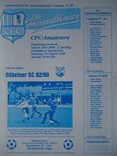 FC Rodewisch Riesaer SV Programm 1996//97 1