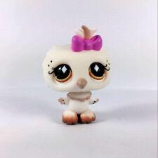 rare Hasbro Littlest Pet Shop Night Owl White Bird animal Figure Cute Toy Doll