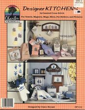 Cross Stitch Designer Kitchens 12 Counted Cross Stitch Patterns Projects