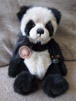 Charlie Bears LEO Panda Isabelle Lee 2007 Only 1600 Made Retired CB173700b