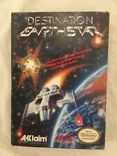 Destination Earthstar NES Box Only (Nintendo Entertainment System, 1990)