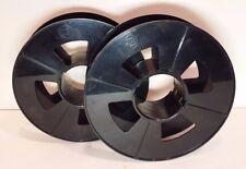 "Burroughs 6 1/2"" Plastic Tape Reels for 1 1/2"" paper tape machine"