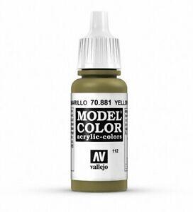 Vallejo MODEL COLOR 70.881 - GREEN YELLOW