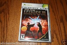 Xbox Star Wars Episode III 3 Revenge of the Sith  Brand NEW X Box