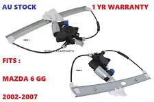 Electric Power Window Regulator & Motor FIT Mazda 6 GG RH Front 2002-2007 NEW