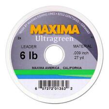 NUOVO Maxima Ultragreen Premium Monofilamento Lenza da Pesca Grossa 100 M Verde 5 LB (ca. 2.27 kg)