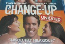 THE CHANGE-UP {Blu-Ray & DIGITAL} RYAN REYNOLDS JASON BATEMAN Pre-owned ~ B2C2