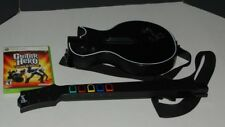 LES PAUL GIBSON XBOX 360 BLACK WIRELESS GUITAR HERO CONTROLLER W/ GAME TESTED