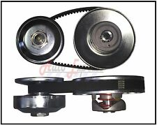 "40 Series Torque Converter 3/4""Driven 1""Driver Clutch Pulley Comet 40D Belt Set"