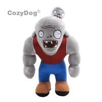 "12"" Plants vs Zombies PVZ Gargantuar Figure Plush Baby Toy Stuffed Soft Doll New"