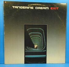 TANGERINE DREAM EXIT VINYL LP 1981 ORIGINAL PRESS GREAT CONDITION! VG++/VG+!!
