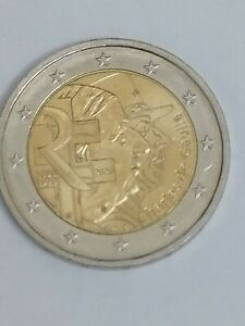 Piece 2 Euro Charles de Gauile 2020