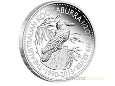 25 Jahre Kookaburra Peking Beijing Coin Show Australien 2015  1/2 oz Silber PP