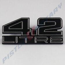 4.2 LITRE Boot Lid Badge New for HOLDEN HJ HX HZ Kingswood Monaro Pemier GTS 253