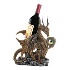 NEW Gothic Gifts DRAGON STATUE Wine Bottle Holder Game of Thrones Dungeon Room