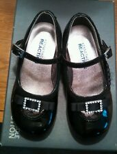 Kenneth Cole Reaction Toddler Girl Black Mary Janes Size 6.5