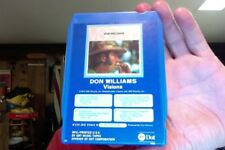 Don Williams- Visions- used 8 Track tape- real nice