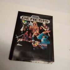 Sega  Genesis 1990 Promo Poster game insert c
