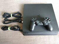 Sony PlayStation 4 Slim 1TB Console - Jet Black Console