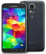 "Samsung Galaxy S5 4G LTE SM-G900A 16GB 5.1"" 2GB RAM Libre TELEFONO MOVIL NEGRO"