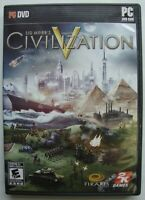 SID MEIER'S CIVILIZATION V 5 PC COMPUTER GAME *