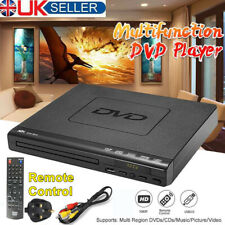 More details for dvd players compact 40hz-22khz cd vcd music disc upscaling usb+remote easy setup
