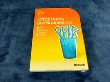 Full Retail Microsoft Office 2010 Home & Business Genuine Word Excel Outlook