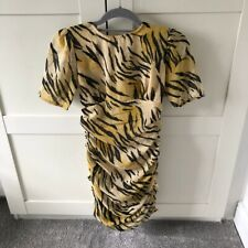 Asos Tiger Print Dress Size 8 Petite