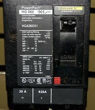 PowerPact SquareD Hg060 Hga260351 Circuit Breaker 35-Amps 2-Pole New ,open box
