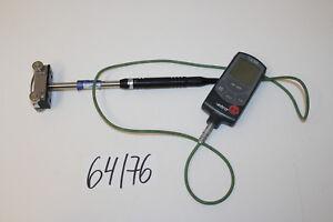 Ebro TFN 520 Thermometer Temperaturmessgerät und TPN 800 Fühler Digital 64/76