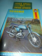 SUZUKI AP50,A50.AS50,   OWNERS WORKSHOP MANUAL  Brand new manual .NOT A REPRINT.